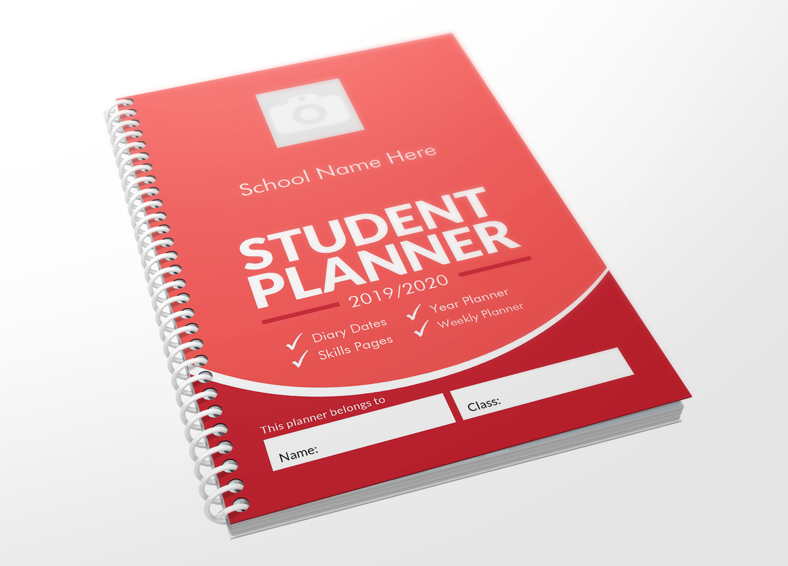 Red Planner