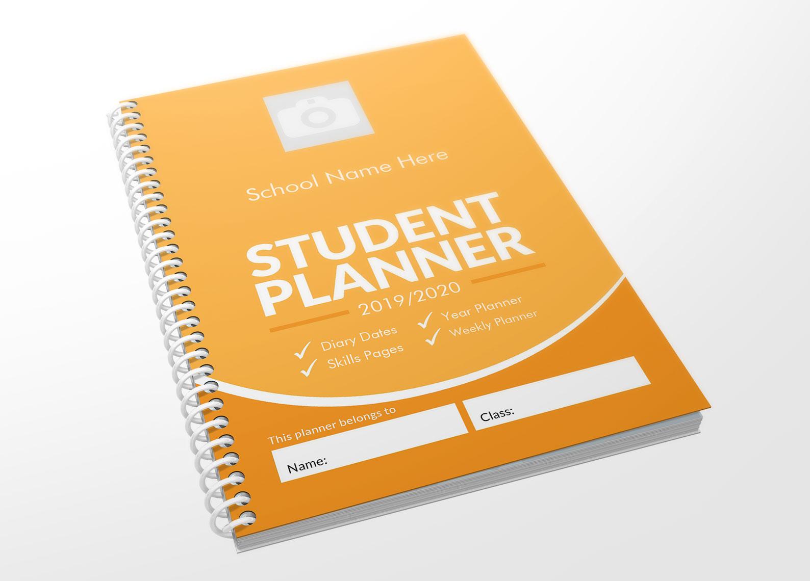 Yellow Planner